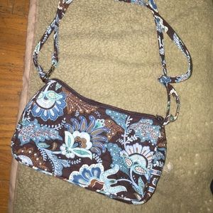 Vera Bradley Java Blue Shoulder Bag